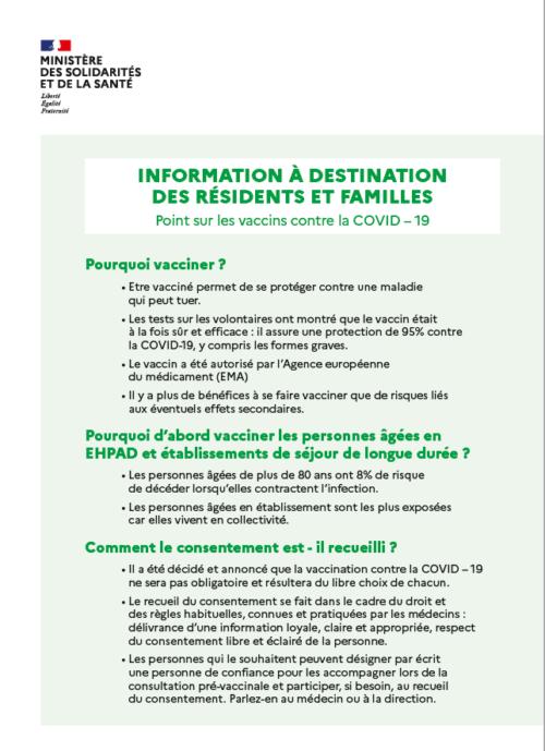 Campagne de vaccination contre la COVID-19